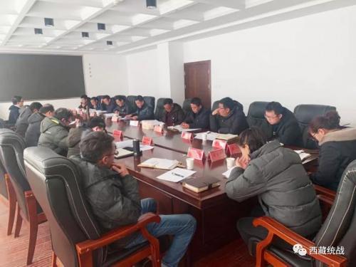 中国藏学研究中心社会经济所所长扎洛一行赴谢通门县调研