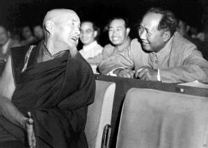 """""""愛國老人""""、藏族著名佛學大師喜饒嘉措曾在中國五所一流大學任職"""