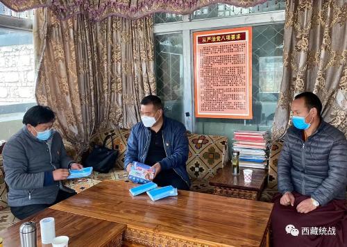 曲水縣委常委、統戰部部長巴珠前往轄區各寺廟督導檢查工作