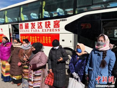 """西藏那曲完成首批農牧民""""組團式""""跨市務工"""