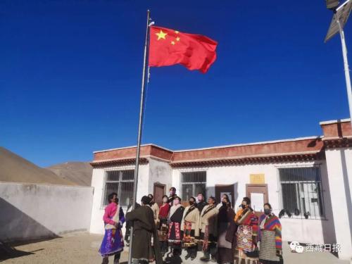 这是西藏人民发自内心的爱
