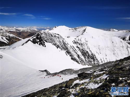 (2020珠峰高程測量)(4)海拔7000米以上的壯美景色