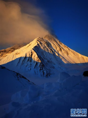 (2020珠峰高程測量)(1)海拔7000米以上的壯美景色