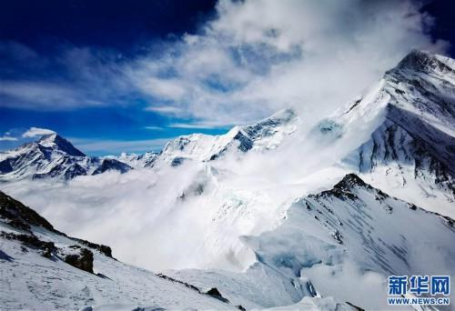 (2020珠峰高程測量)(5)海拔7000米以上的壯美景色