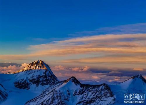 (2020珠峰高程測量)(2)海拔7000米以上的壯美景色