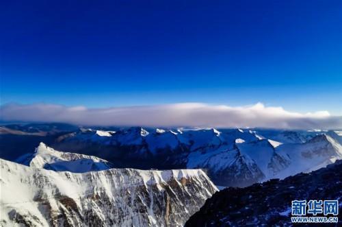 (2020珠峰高程測量)(3)海拔7000米以上的壯美景色