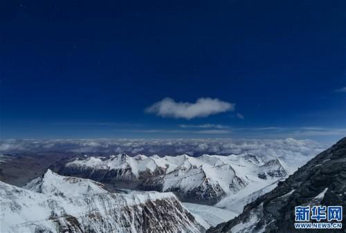 (2020珠峰高程測量)(7)海拔7000米以上的壯美景色