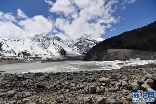 (美麗中國)(6)遠眺來古冰川