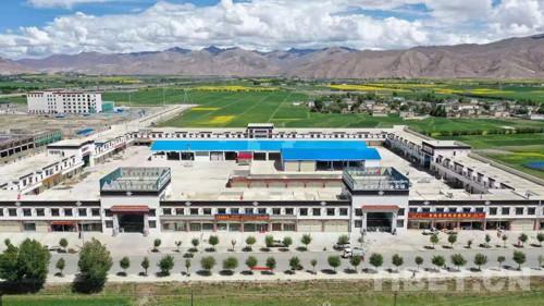 """西藏日喀则 """"百企帮百村""""行动3.8万人受益"""