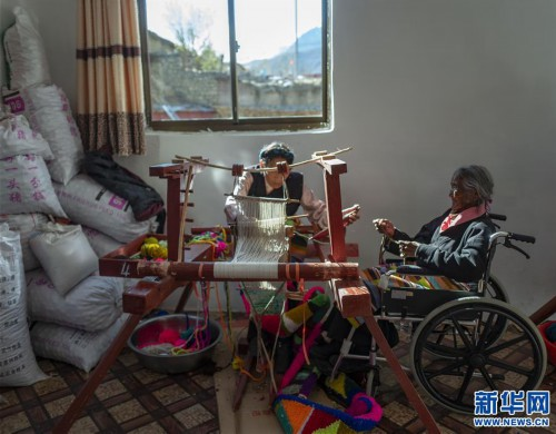 """(圖片故事)(10)109歲翻身農奴索朗卓瑪見證""""世界屋脊""""百年風雨"""