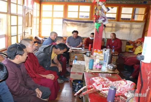拉薩市持續深化寺廟宣傳教育 不斷提高僧人的法律意識和安全生產意識