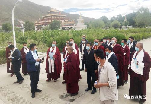 日喀则市委统战部组织辖区三所西藏佛学院分院管理人员赴西藏佛学院开展学习考察活动