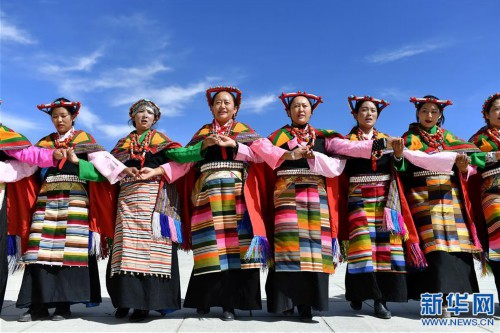 """(新華視界)(3)""""藏西秘境""""的文化瑰寶——古格宣舞"""
