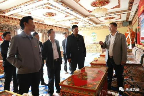 走訪委員企業 助力民企發展 --區政協調研組赴西藏金塔集團及集團公司調研