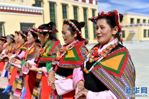 """(新華視界)(6)""""藏西秘境""""的文化瑰寶——古格宣舞"""