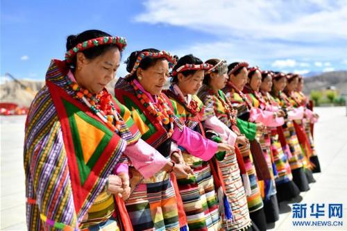 """(新華視界)(8)""""藏西秘境""""的文化瑰寶——古格宣舞"""
