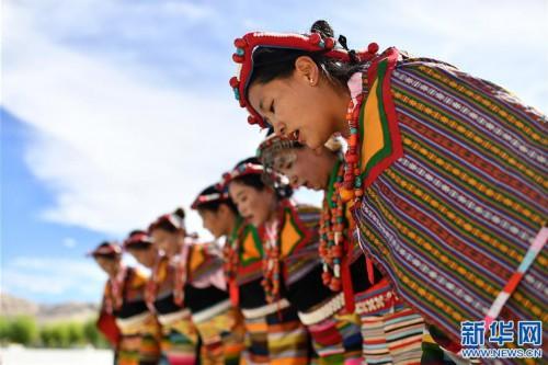 """(新華視界)(2)""""藏西秘境""""的文化瑰寶——古格宣舞"""