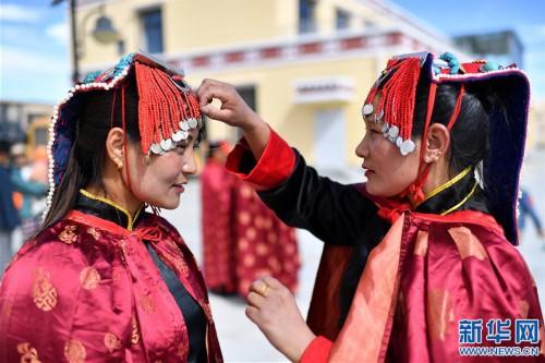 """(新華視界)(5)""""藏西秘境""""的文化瑰寶——古格宣舞"""