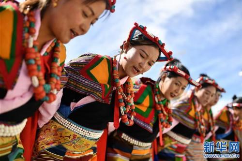 """(新華視界)(7)""""藏西秘境""""的文化瑰寶——古格宣舞"""
