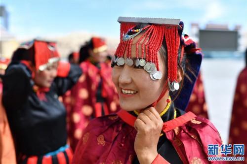 """(新華視界)(4)""""藏西秘境""""的文化瑰寶——古格宣舞"""