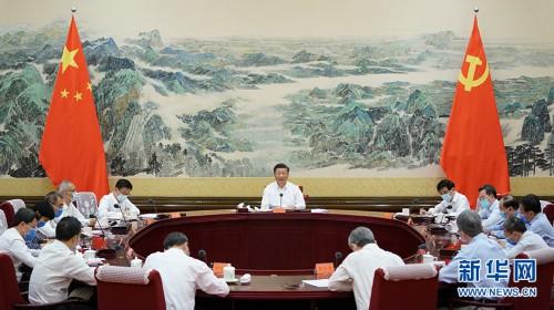 習近平主持召開經濟社會領域專家座談會