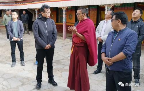 阿里地委委员、统战部部长格桑达瓦深入普兰县宗教活动场所调研并宣传中央第七次西藏座谈会精神