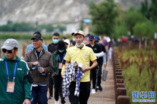 全民健身——拉萨2020年环拉鲁湿地健步走系列活动启动