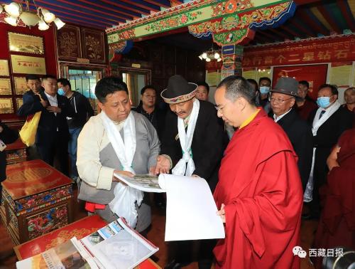 班禅额尔德尼·确吉杰布圆满完成林芝社会调研和佛事活动
