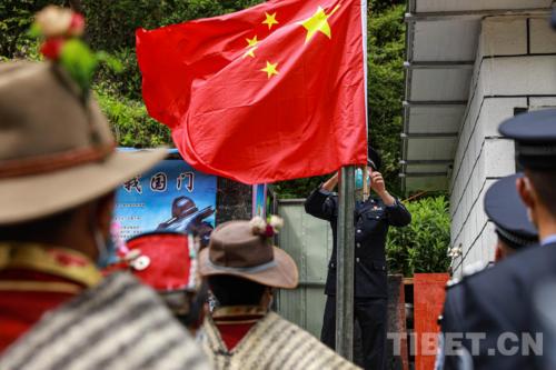 盛开在西藏陈塘的民族团结之花