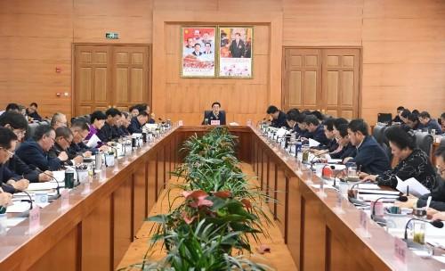 区党委常委会会议决定9月28日至29日召开区党委九届八次全会