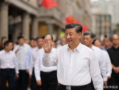 习近平:继续坚定不移走改革开放的道路