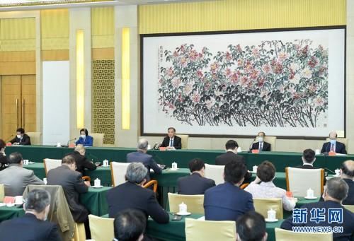 紀念臺灣光復75周年學術研討會在京舉行 汪洋出席并講話