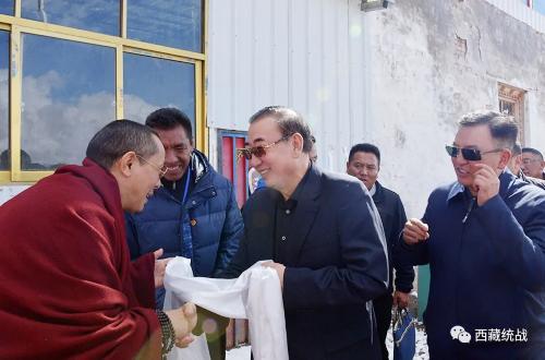 旦科在孜珠寺調研時強調—— 弘揚愛國愛教優良傳統,深入貫徹落實中央第七次西藏工作座談會精神