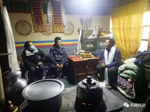 日喀则市委统战部深入边境县开展藏胞慰问调研活动