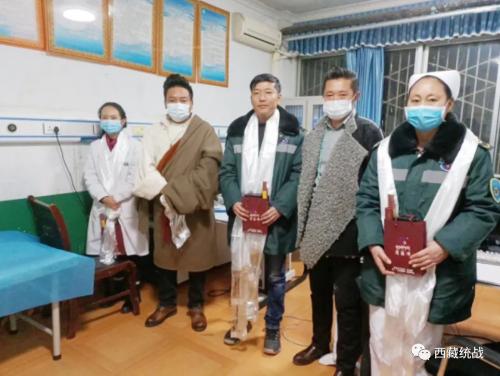 昌都市丁青县工商联会员企业开展慰问活动