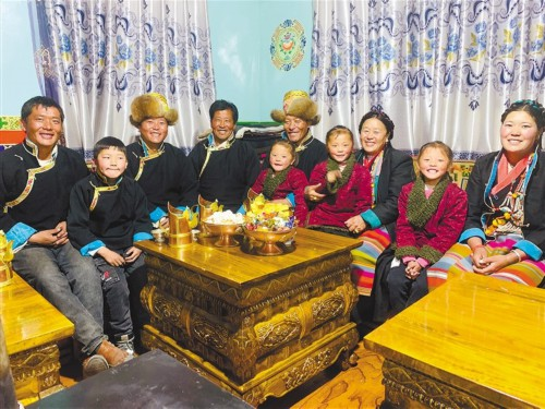 日喀则市欢度春节、藏历新年掠影