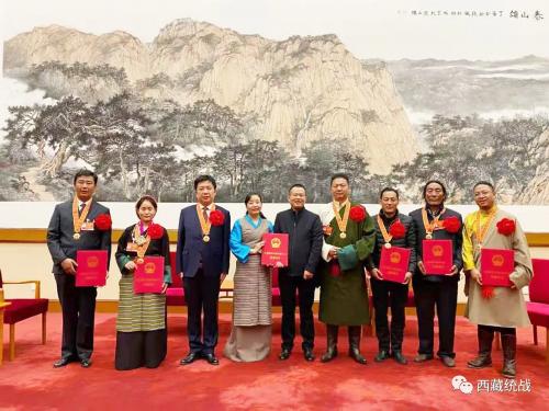 """西藏金塔建设集团董事长扎塔荣获""""全国脱贫攻坚先进个人""""称号"""