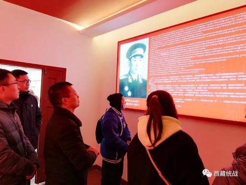 昌都市委统战部组织参观红色教育基地 推进党史学习教育