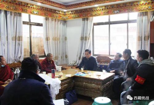 林芝市委常委、统战部部长达瓦赴巴宜区米瑞乡督导检查宗教工作