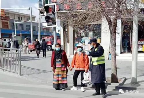 """西藏金塔建设集团有限公司组织开展""""学雷锋""""志愿服务行动"""
