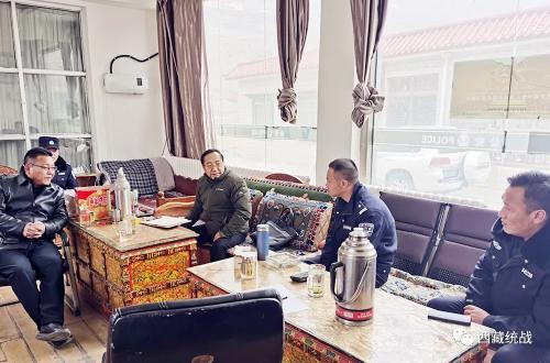 山南市委常委、统战部部长,市政协党组副书记丹增深入乃东区宗教领域检查指导工作