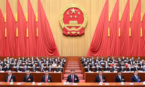 十三届全国人大四次会议在京闭幕 习近平等出席闭幕会