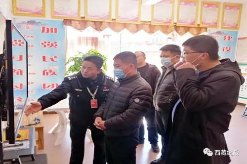 昌都市副市长解文光一行工作组赴芒康县维色寺开展督导检查工作