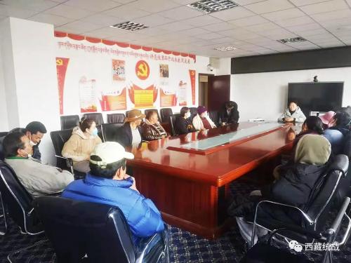 聂拉木县委统战部在樟木镇开展定居藏胞慰问活动