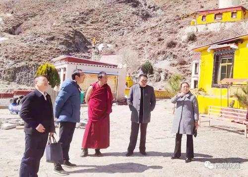 林周县委副书记、县长高军深入色康寺开展基层大接访办实事调研活动