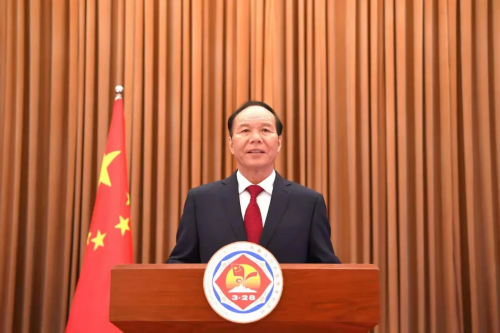 自治区主席齐扎拉发表纪念西藏百万农奴解放62周年电视讲话