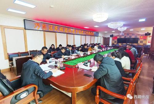 乃东区召开民族团结进步创建工作推进会
