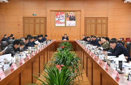 吴英杰主持召开自治区党委统一战线工作领导小组会议
