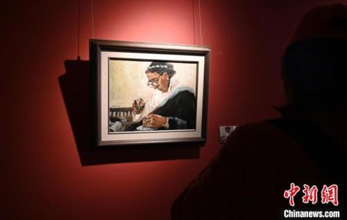 """一场油画展带你""""穿越""""了解""""老西藏"""""""