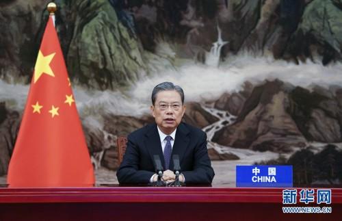 赵乐际出席联合国大会反腐败问题特别会议